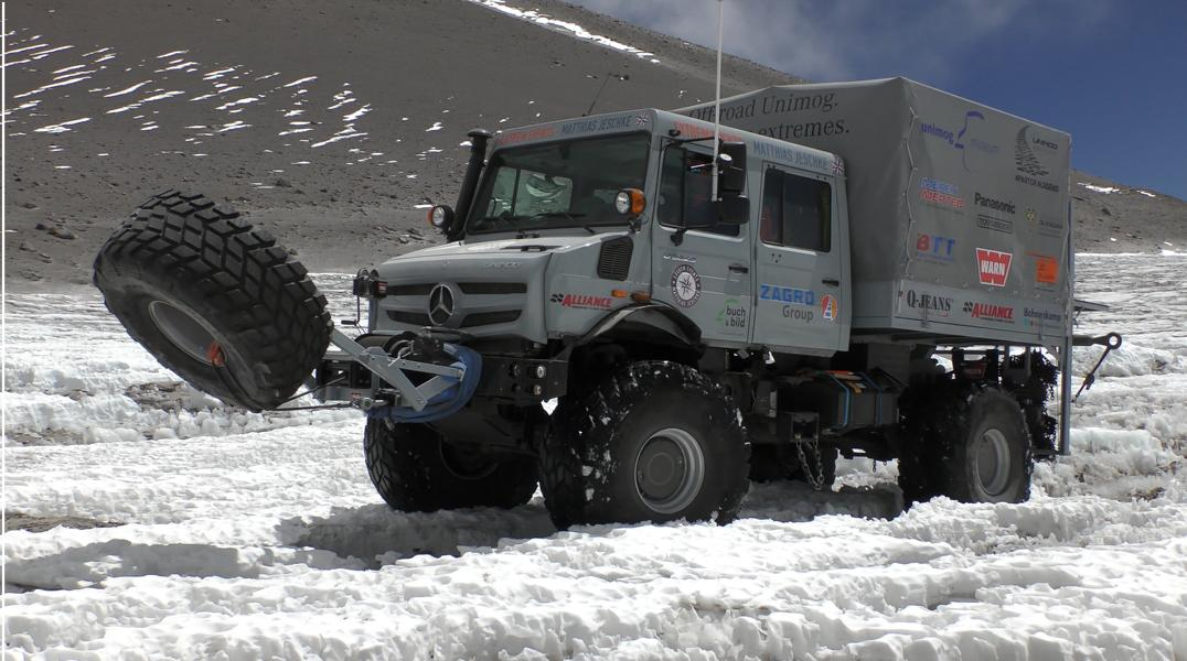 Alliance 392 in the Snow