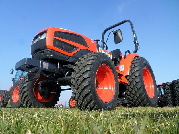 Galaxy Garden Pro on Compact Tractor HS