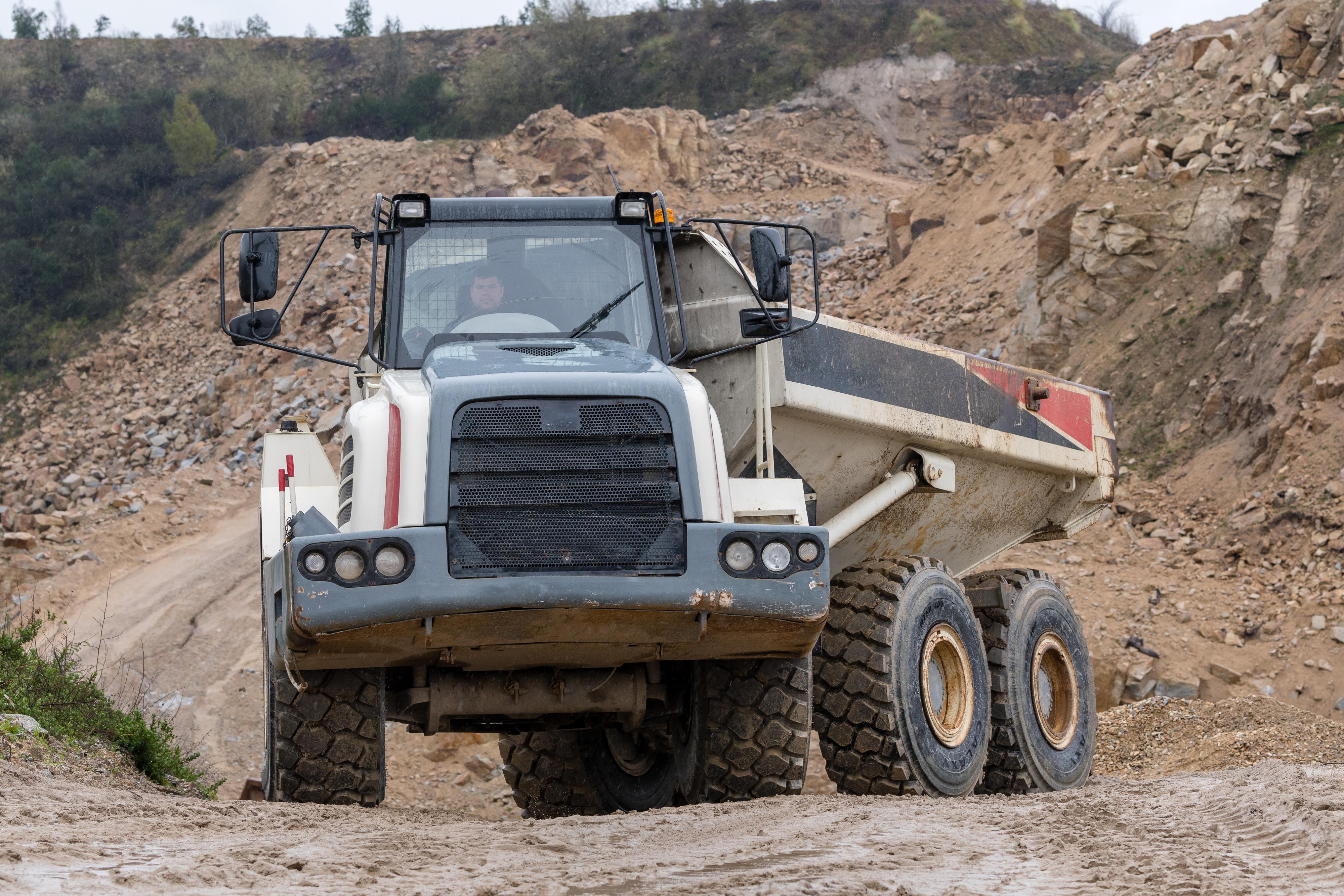 Galaxy HTSR 400 - Dump Truck