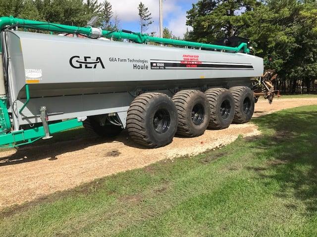 Koop Tractor and trailer